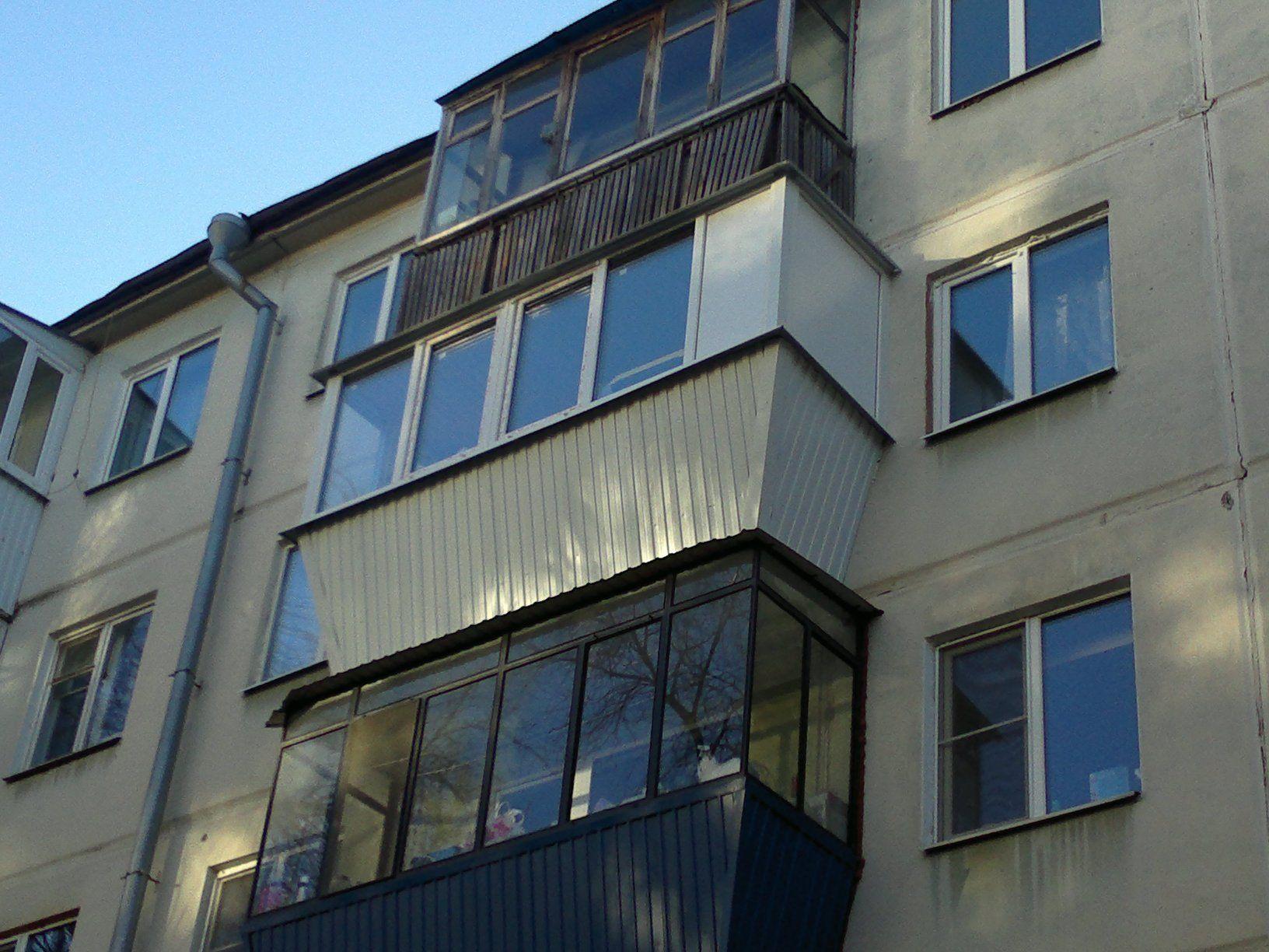 Остекление балконов и лоджий под ключ стоимость в самаре - к.