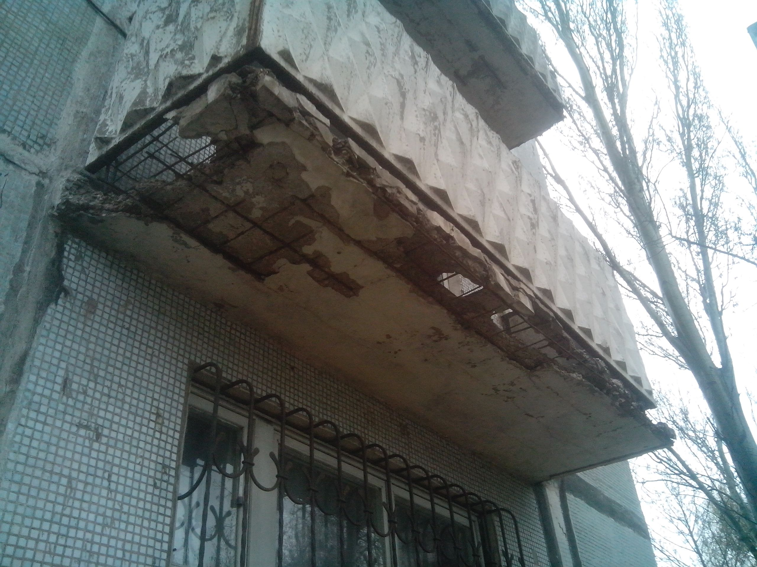 Ремонт балконной плиты - как правильно выполнять.