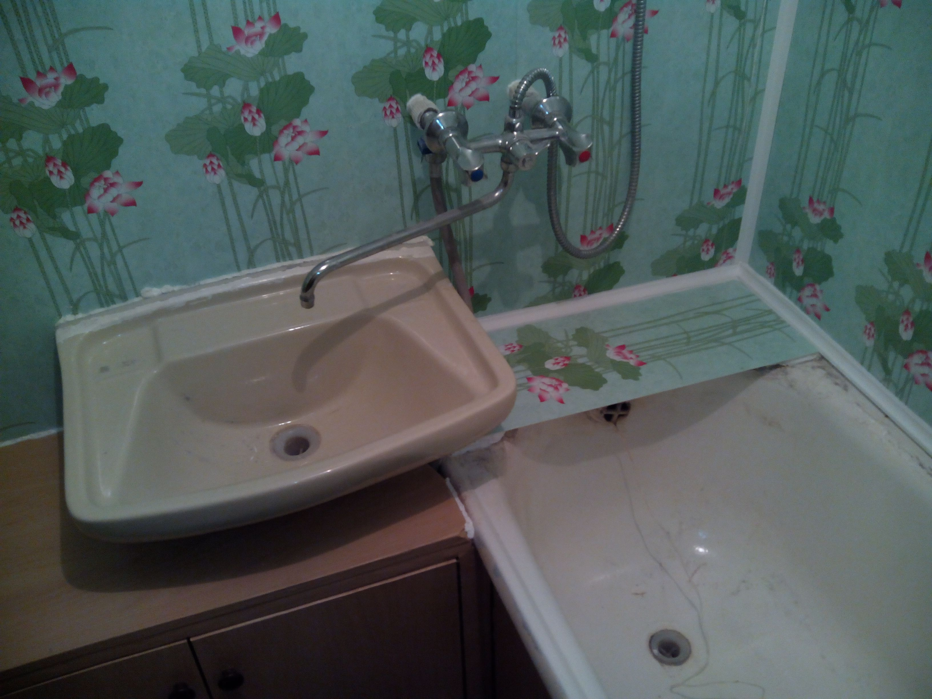 Ванная комната отделка панелями фото