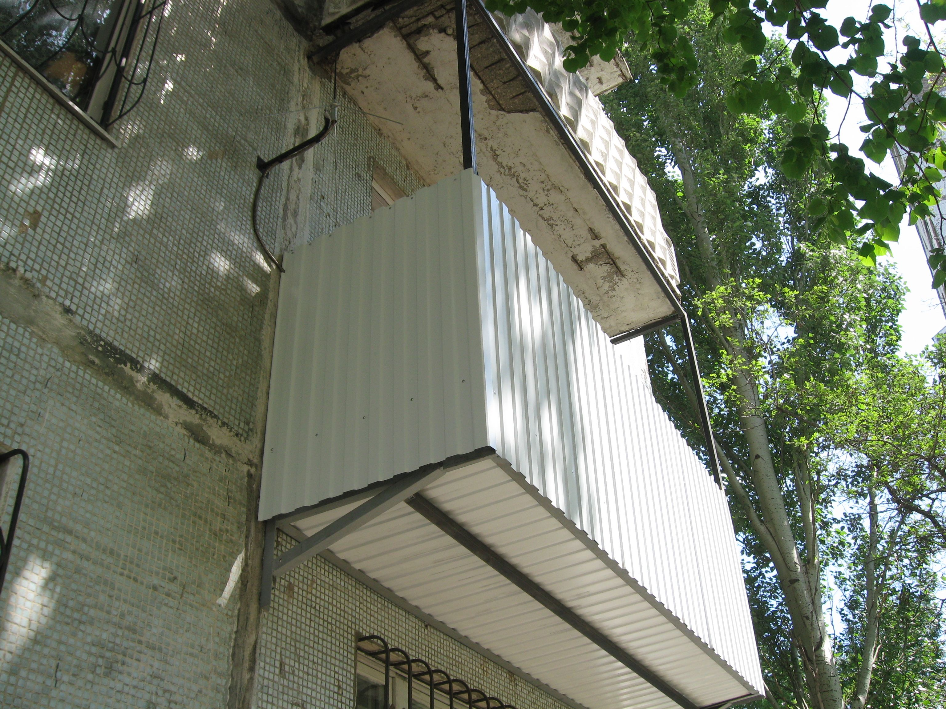 Балконы и лоджии с выносом, укрепление, увеличение, расширен.
